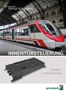 Griessbach Tuersteuerungssysteme Datenblatt