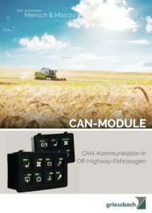 CAN Module Griessbach Luckenwalde download Datenblatt