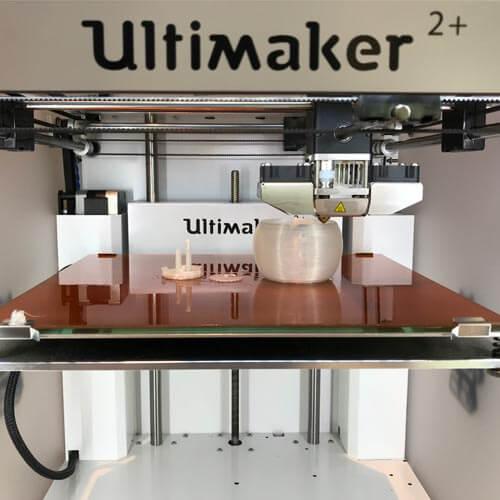Griessbach auf der Impuls mit 3D Drucker