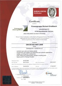20190410-Griessbach-Certificate-ISO-9001-engl