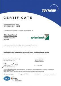 Griessbach Luckenwalde Certificate Managementsystem
